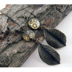 Mechanical earrings 804