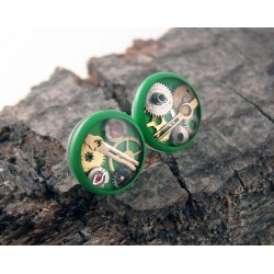 Mechanical earrings 103