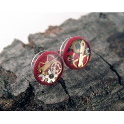 Mechanical earrings 104