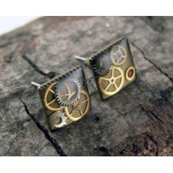 Mechanical earrings 1112