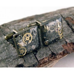 Mechanical cufflinks 687